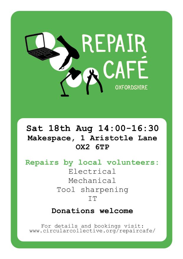 Repair Cafe 2 - Circular Collective - Poster Flyer v2 pg1